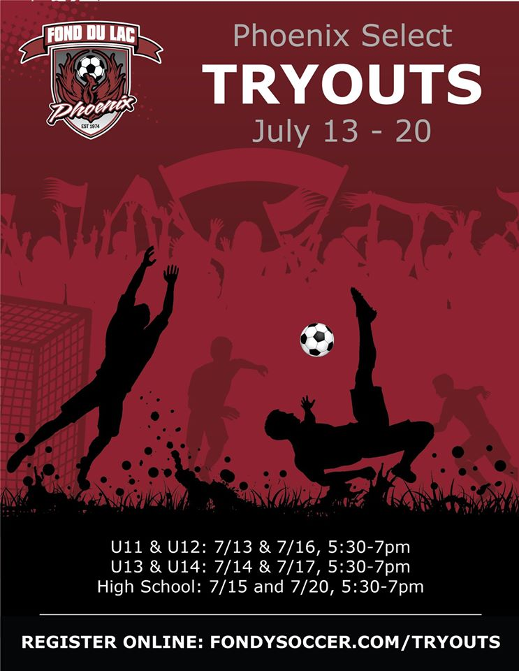 2020 Select Tryouts
